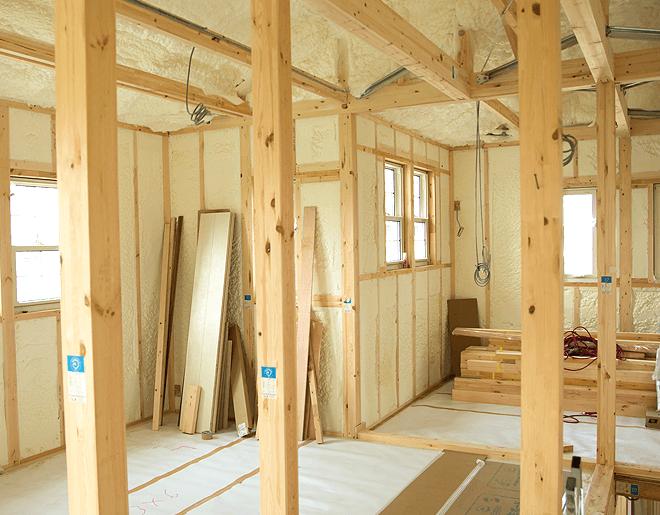 Isolation maison ossature bois