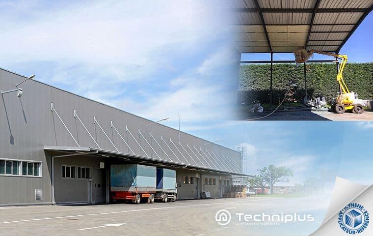 isolation-bac-acier-bâtiment-industriel