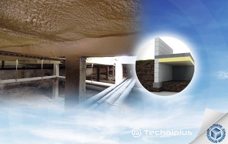 Isolation phonique et thermique pour maisons individuelles techniplus - Vide sanitaire maison passive ...